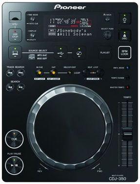 Звук Проигрыватель Pioneer CDJ-350 напрокат | Аренда и прокат – Москва