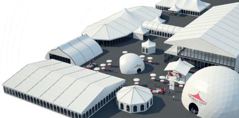 Тенты и шатры Индивидуальное решение павильона напрокат | Аренда и прокат – Москва