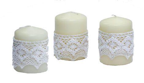 Другое Набор из 4 свечей «Елизавета» напрокат   Аренда и прокат – Челябинск