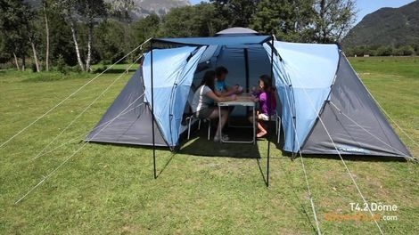 Палатки/тенты 4-местная палатка Quechua T4.2 Dome напрокат | Аренда и прокат – Москва