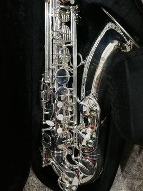 Духовые Саксофон тенор серебряный напрокат | Аренда и прокат – Москва