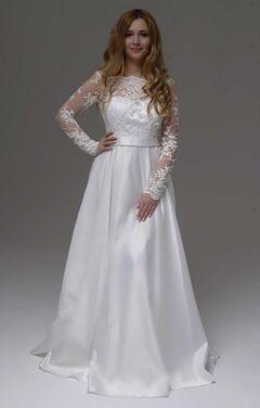 Платья Свадебное платье с рукавами 207 напрокат | Аренда и прокат – Москва