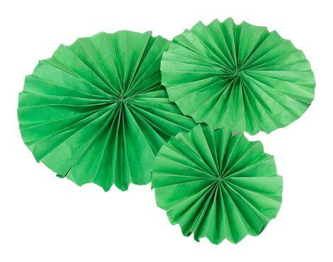 Другое Набор из 5 вееров зеленого цвета напрокат   Аренда и прокат – Санкт-Петербург