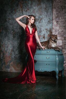 Платья платье русалка с длинным шлейфом  напрокат | Аренда и прокат – Нижний Новгород