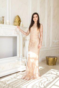 Платья Вечернее золотое платье-русалка напрокат | Аренда и прокат – Санкт-Петербург