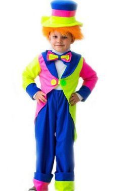 "Униформа Костюм ""Клоун"" 6-7 лет. Рост 134 см напрокат | Аренда и прокат – Королев"