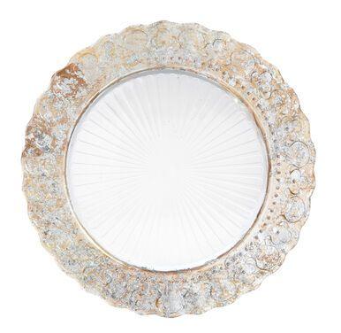 Тарелки  Набор из 2 тарелок с золотым декоро напрокат   Аренда и прокат – Новосибирск