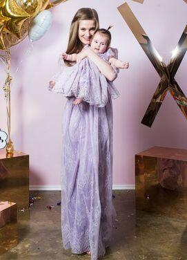 Платья Нежный комплект мама+дочка напрокат | Аренда и прокат – Санкт-Петербург
