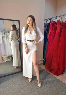 Платья Белое вечернее платье напрокат   Аренда и прокат – Санкт-Петербург