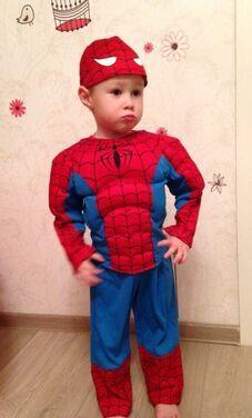 "Кино, супергерои, комиксы Костюм ""Человек паук"" 2-3 года.  напрокат | Аренда и прокат – Королев"