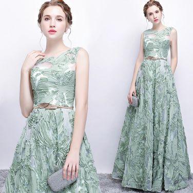 Платья Вечернее платье мятного цвета  напрокат | Аренда и прокат – Санкт-Петербург