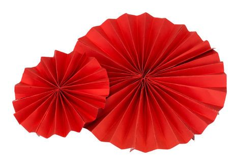 Другое Набор из 5 вееров красного цвета напрокат   Аренда и прокат – Санкт-Петербург