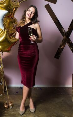 Платья Платье-футляр из бархата напрокат | Аренда и прокат – Санкт-Петербург