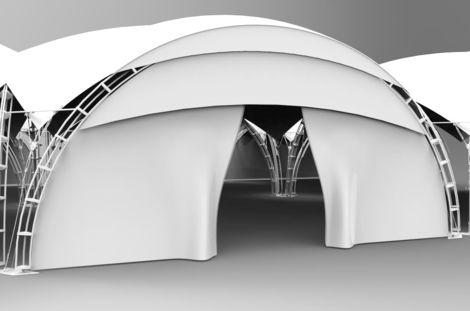 Тенты и шатры Арочный павильон (квадрат) напрокат | Аренда и прокат – Москва