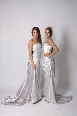 Национальные костюмы Платье серебро со шлейфом напрокат | Аренда и прокат – Москва