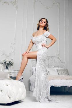 Платья Серебристое платье в пайетках напрокат | Аренда и прокат – Санкт-Петербург