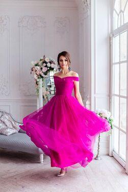 Платья Вечернее платье цвета фуксии напрокат | Аренда и прокат – Санкт-Петербург