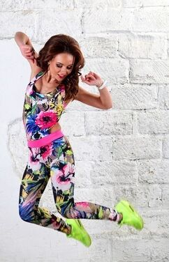 Одежда Спортивная Комбинезон цветочный напрокат | Аренда и прокат – Москва