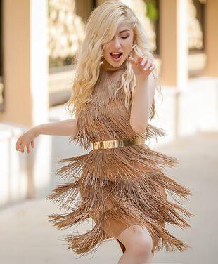 Платья Коктейльное платье с бахромой 162 напрокат | Аренда и прокат – Москва