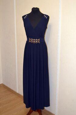 Платья Вечернее платье синее напрокат | Аренда и прокат – Самара