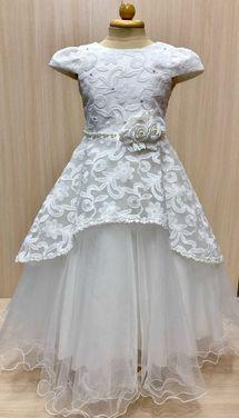 Платья и одежда для девочек Нарядное белое платье напрокат | Аренда и прокат – Пермь