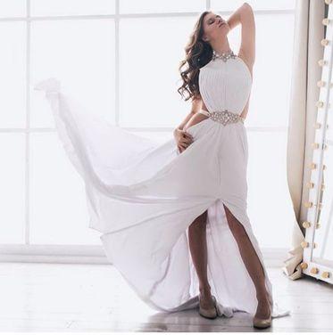 Платья Белое платье в пол для фотосессии напрокат | Аренда и прокат – Москва