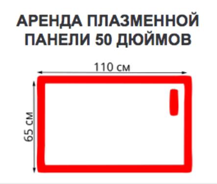 Экраны Плазменная панель 50 дюймов напрокат | Аренда и прокат – Москва