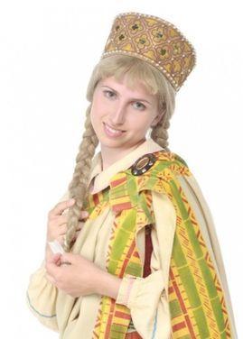 Другое Парик женский светлый с косами напрокат | Аренда и прокат – Москва