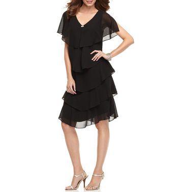 Платья Patra, Black Ruffle Shifon Dress напрокат | Аренда и прокат – Москва