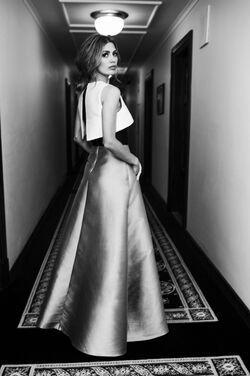 Платья Modern Designer Blue Evening Dress напрокат | Аренда и прокат – Москва