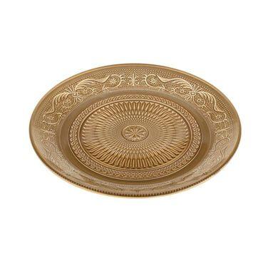 Тарелки  Тарелка золотая, с орнаментом напрокат | Аренда и прокат – Санкт-Петербург