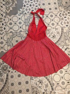 Платья Красное платье в горох  напрокат | Аренда и прокат – Балашиха