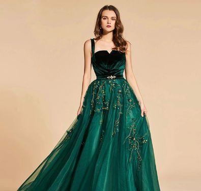 Платья Вечернее платье изумрудное напрокат | Аренда и прокат – Санкт-Петербург