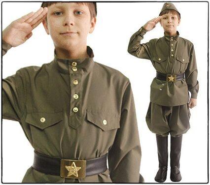 Униформа Детская военная форма напрокат | Аренда и прокат – Санкт-Петербург