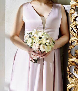 Платья Платье свадебное нежно-розовое  напрокат | Аренда и прокат – Санкт-Петербург