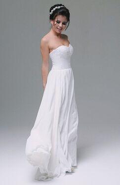 Платья Шифоновое свадебное платье 221 напрокат | Аренда и прокат – Москва