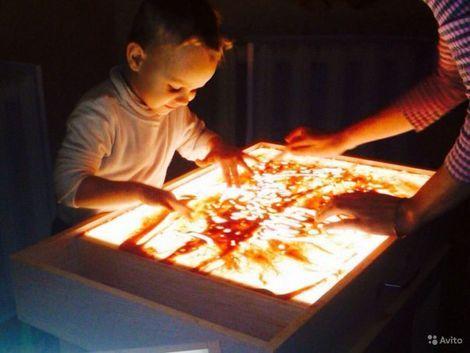 Игрушки Световой стол для рисования песком напрокат | Аренда и прокат – Новосибирск