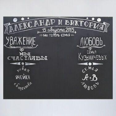 Фотозоны и задники Меловая доска напрокат | Аренда и прокат – Москва