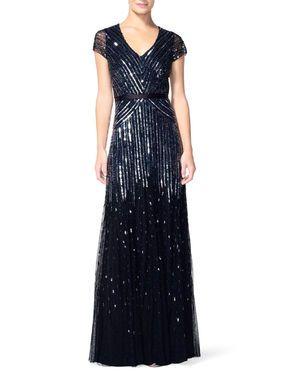 Платья Adrianna Papell , Gown Nil black напрокат | Аренда и прокат – Москва