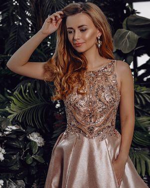 Платья Вечернее платье c кристалами 190 напрокат | Аренда и прокат – Москва