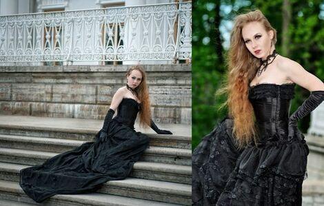 Платья Черное платье безразмерное напрокат | Аренда и прокат – Санкт-Петербург