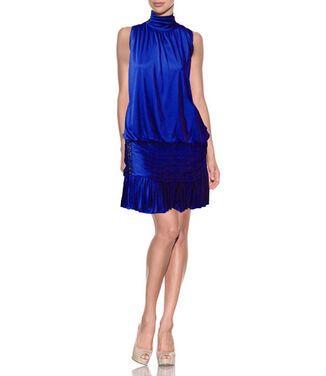 Платья Marc Bouwer, Lapis Blue Drape Dr напрокат | Аренда и прокат – Москва
