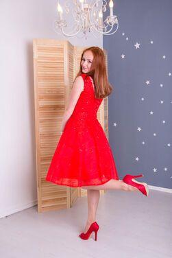 Платья Красное коктейльное платье напрокат | Аренда и прокат – Санкт-Петербург