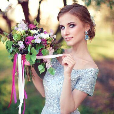 Платья Нежное вечернее платье с пайетками напрокат | Аренда и прокат – Санкт-Петербург