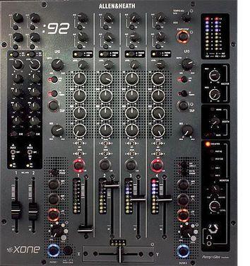 Звук Pioneer Allen&Heath Xone 92 напрокат | Аренда и прокат – Москва