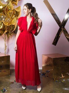 Платья Макси-платье с V-образным вырезом напрокат | Аренда и прокат – Санкт-Петербург