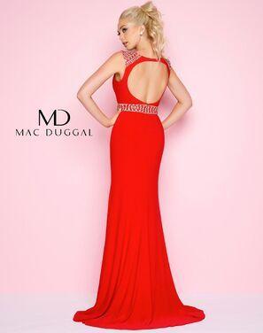 Платья Вечернее платье Mac Duggal красное напрокат | Аренда и прокат – Санкт-Петербург