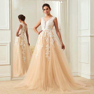 Платья Свадебное платье со шлейфом  напрокат | Аренда и прокат – Санкт-Петербург