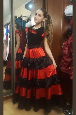 Национальные костюмы Испанский костюм для девочки напрокат | Аренда и прокат – Москва