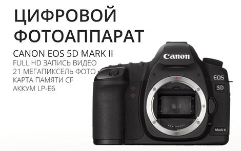 Фотоаппараты Камера Canon EOS 5D Mark II напрокат | Аренда и прокат – Челябинск
